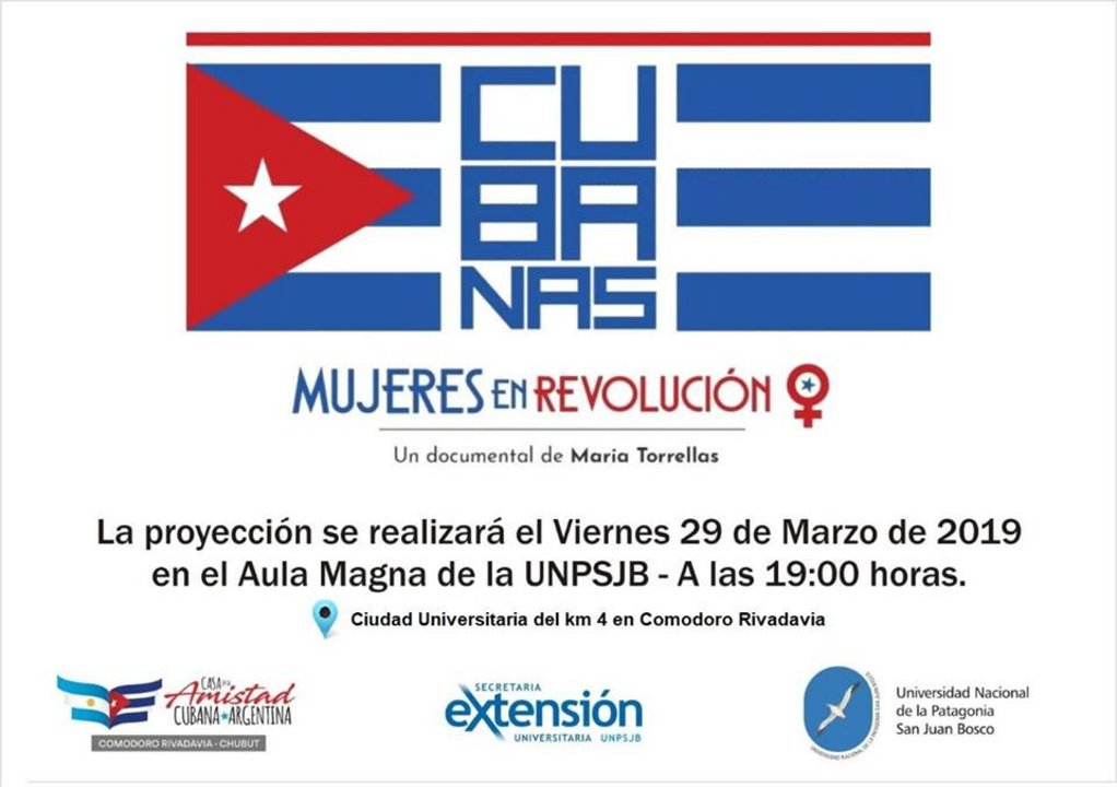"""Cine: """"Cubanas, Mujeres en Revolución"""" de María Torrellas"""