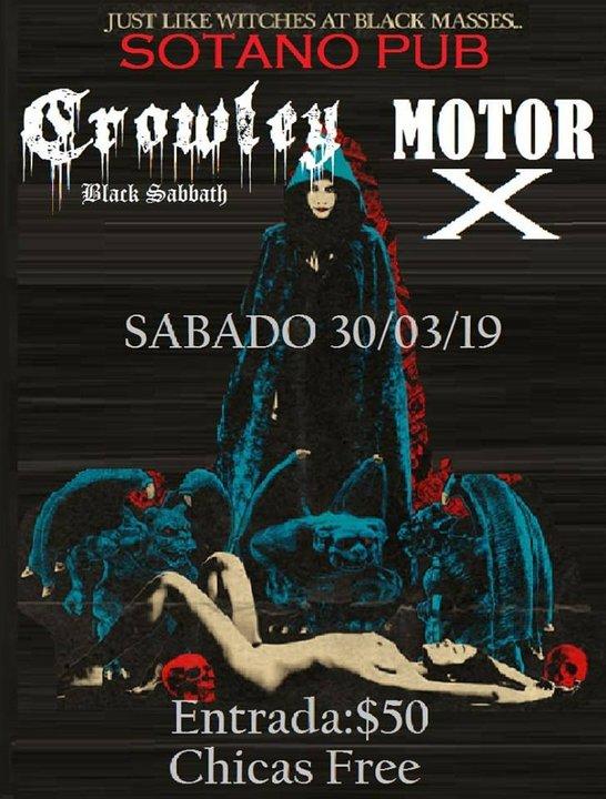 Música: Crowley + Motor X