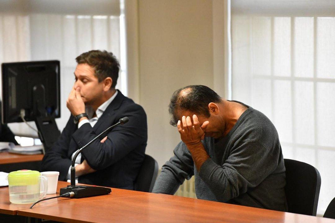 Ávila lloró al escuchar el relato de los fiscales. Foto: Maxi Jonas
