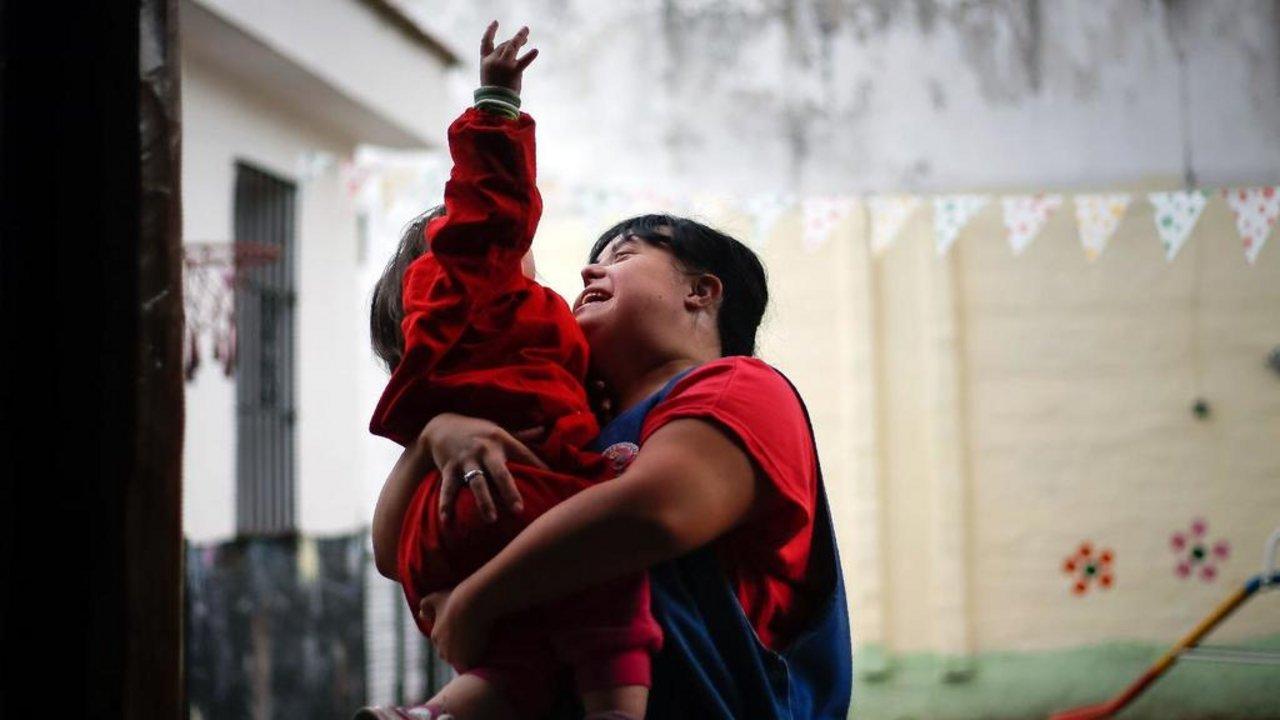 Noelia fue víctima de discriminación en la escuela por tener Síndrome de Down. Crédito: Diego Lima/AFP-GettyImages