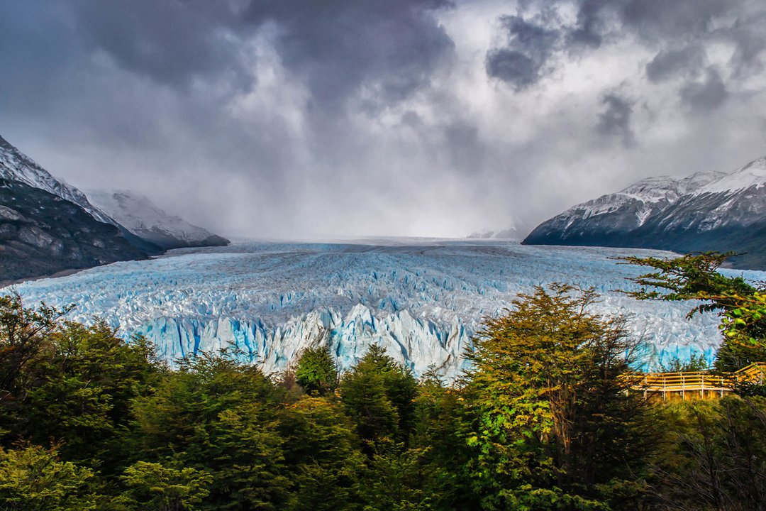 El Parque Nacional los Glaciares.