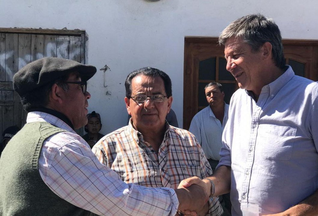 Miguel Guajardo se bajó de la candidatura a intendente.