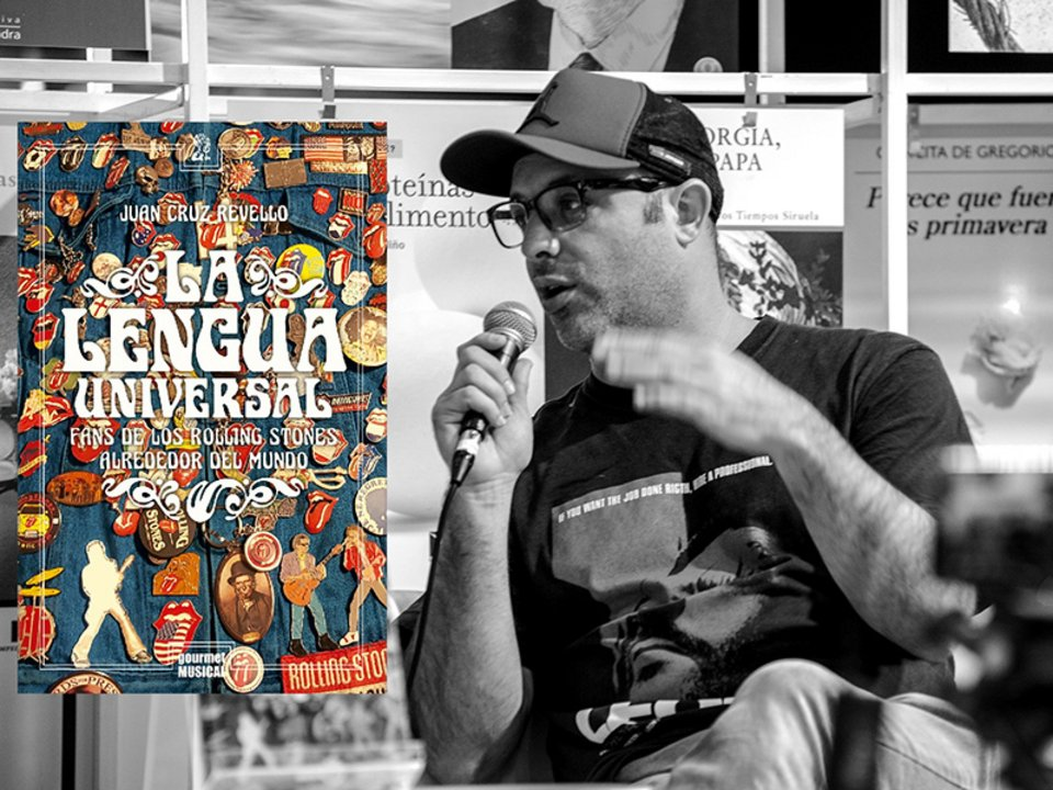 "El periodista Juan Cruz Revello presenta el libro ""La lengua universal"""