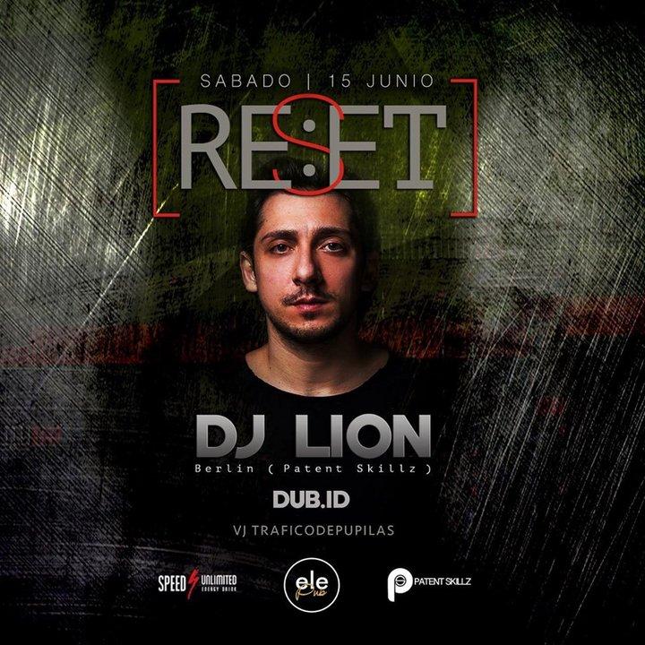 """El ciclo de música electrónica """"Reset"""" presenta a DJ Lion en vivo en Comodoro"""