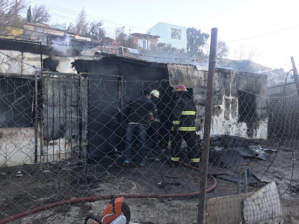 Fallecieron tres personas en un incendio. Foto: ADNSUR