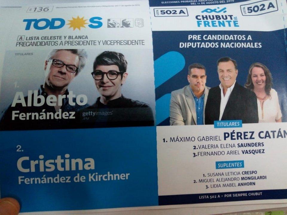 La foto no corresponde a Alberto Fernández y Cristina Kirchner. Foto: ADNSUR