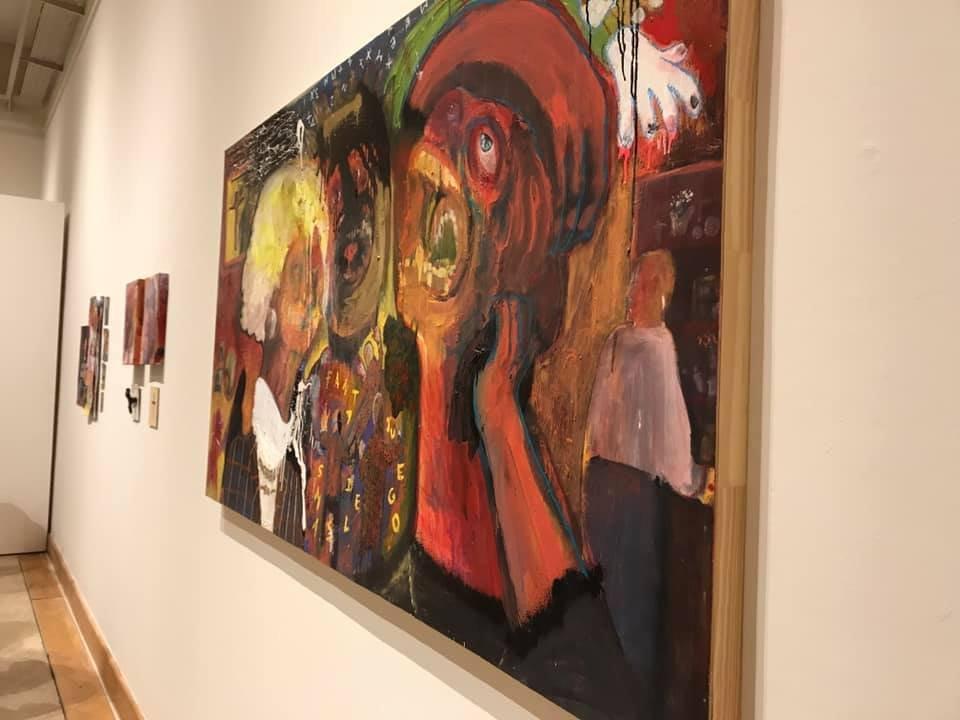 """""""Zonas claras, zonas sombrías"""", abierta en el Centro Cultural Rada Tilly"""