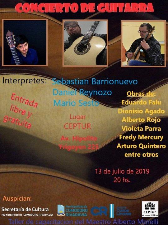 Concierto de Guitarra en el Ceptur