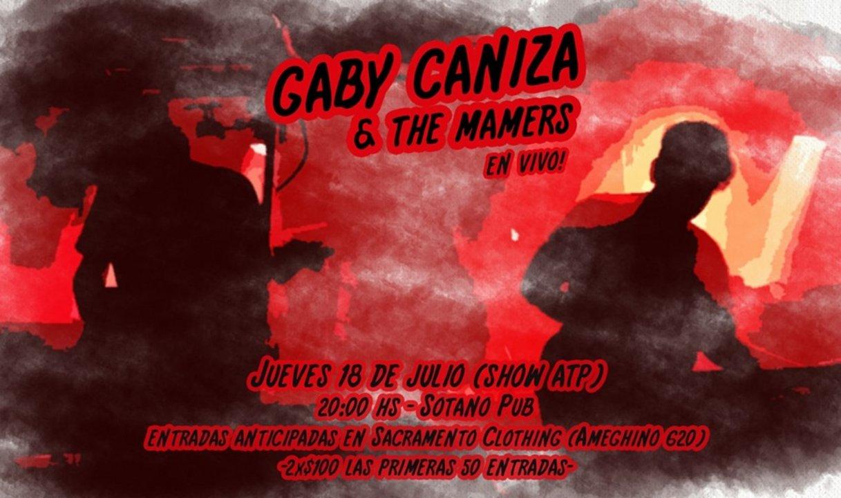 Gaby Caniza & The Mamers en El Sótano Pub