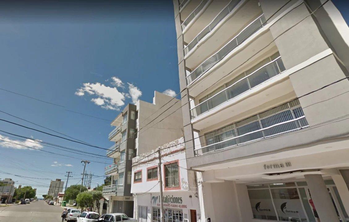 El edificio donde ocurrió el robo el 23 de julio.