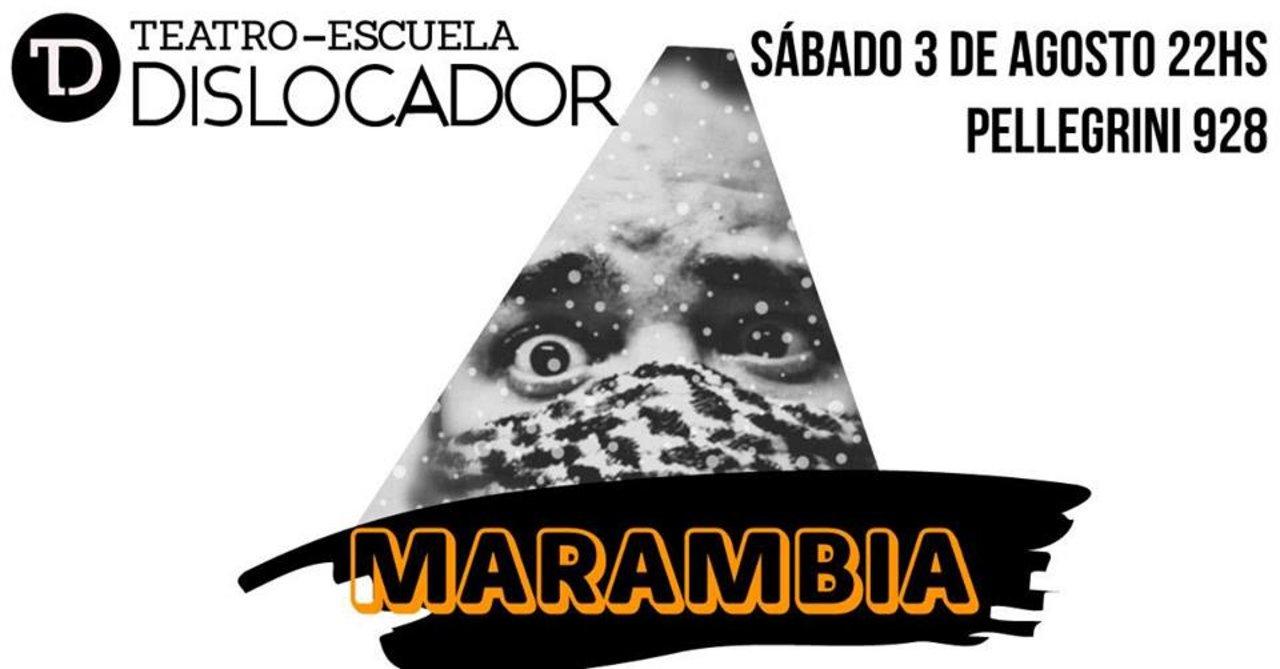 Marambia este sábado en el Teatro Dislocador