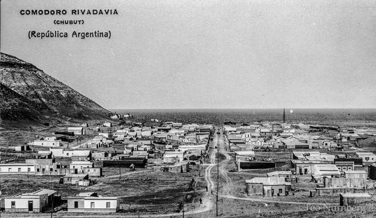 Vista del Centro de Comodoro Rivadavia