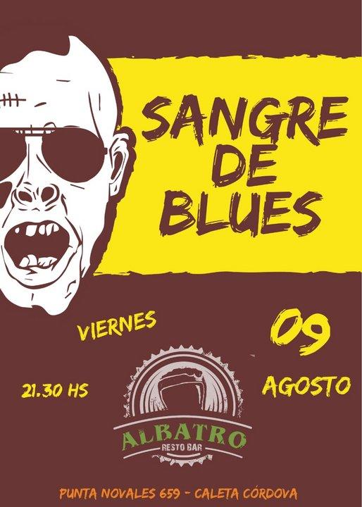 Sangre de Blues en Caleta Córdova