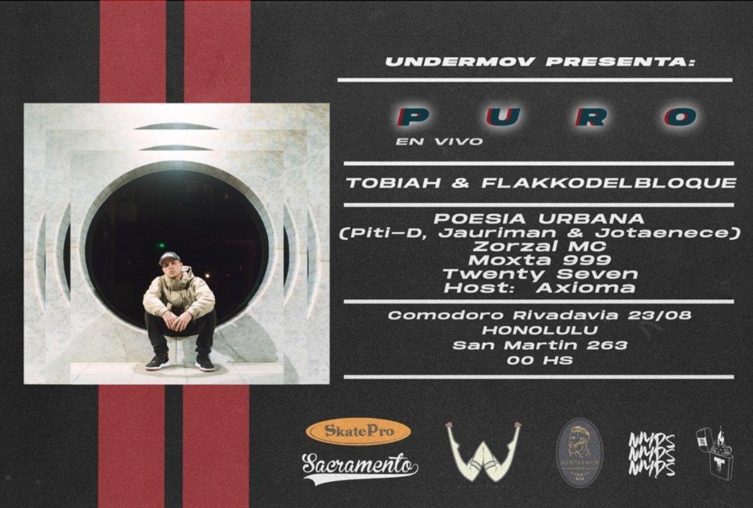 Festival UnderMov este viernes en Honolulu Pub