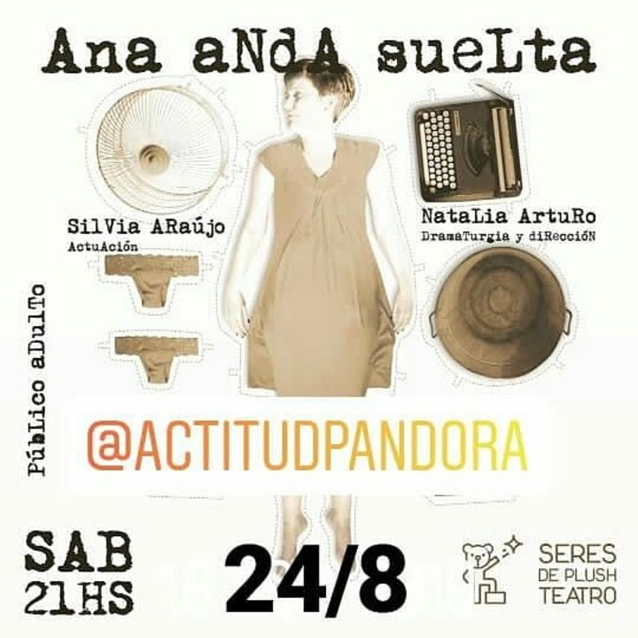 """""""Ana Anda Suelta"""" en Actitud Pandora"""