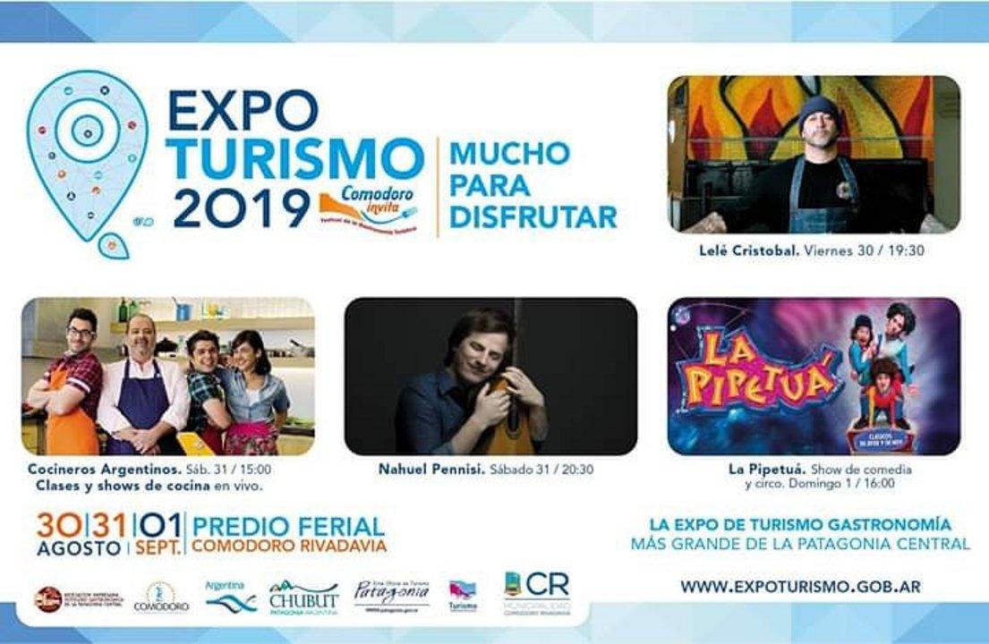 Expo Turismo 2019 desde este viernes en el Predio Ferial