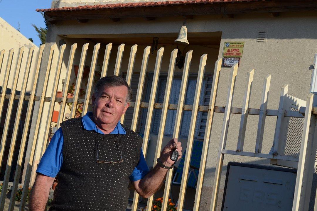 Hernán Boniakowski asegura que la alarma comunitaria dio resultados en el barrio Pení.