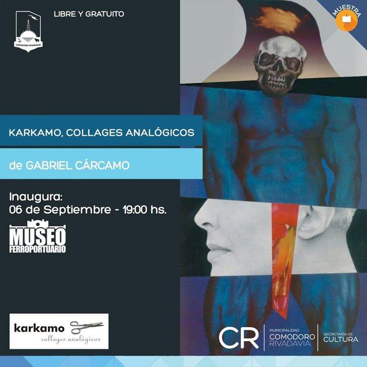 """""""Collages analógicos"""" de Gabriel Cárcamo"""