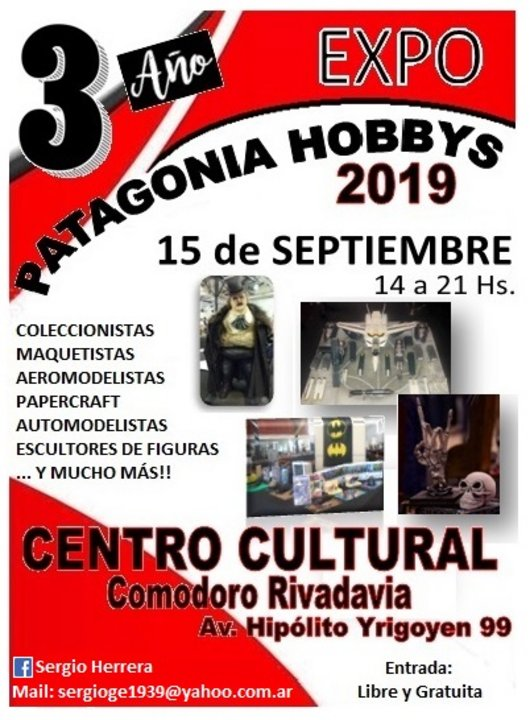Expo Hobbys de la Patagonia