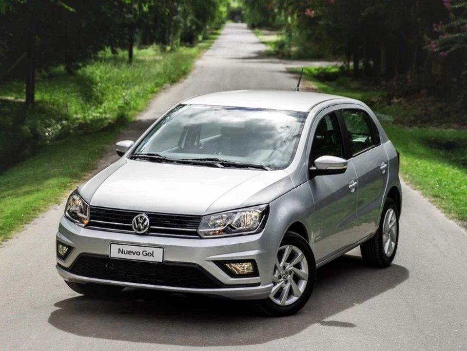 Volkswagen Gol Trend. La versión más económica es la Trendline, que tiene un descuento de casi $280.000