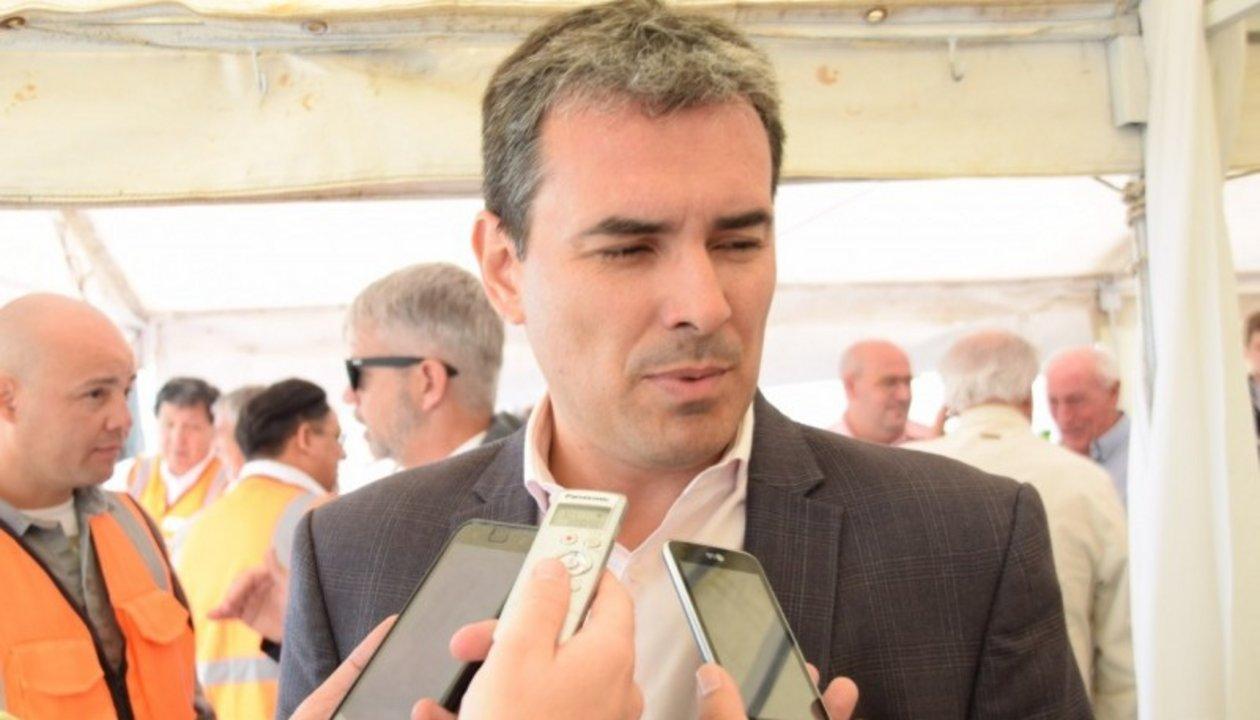 El ministro de Hidrocarburos, Martín Cerdá-