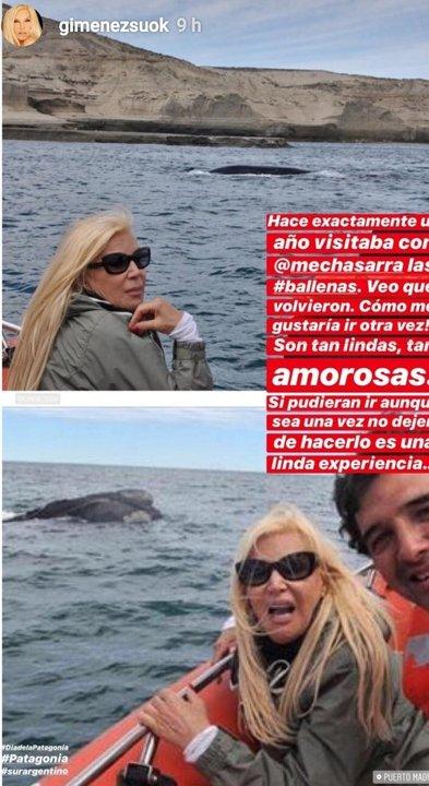 La historia en Instagram que publicó el viernes Susana Giménez.