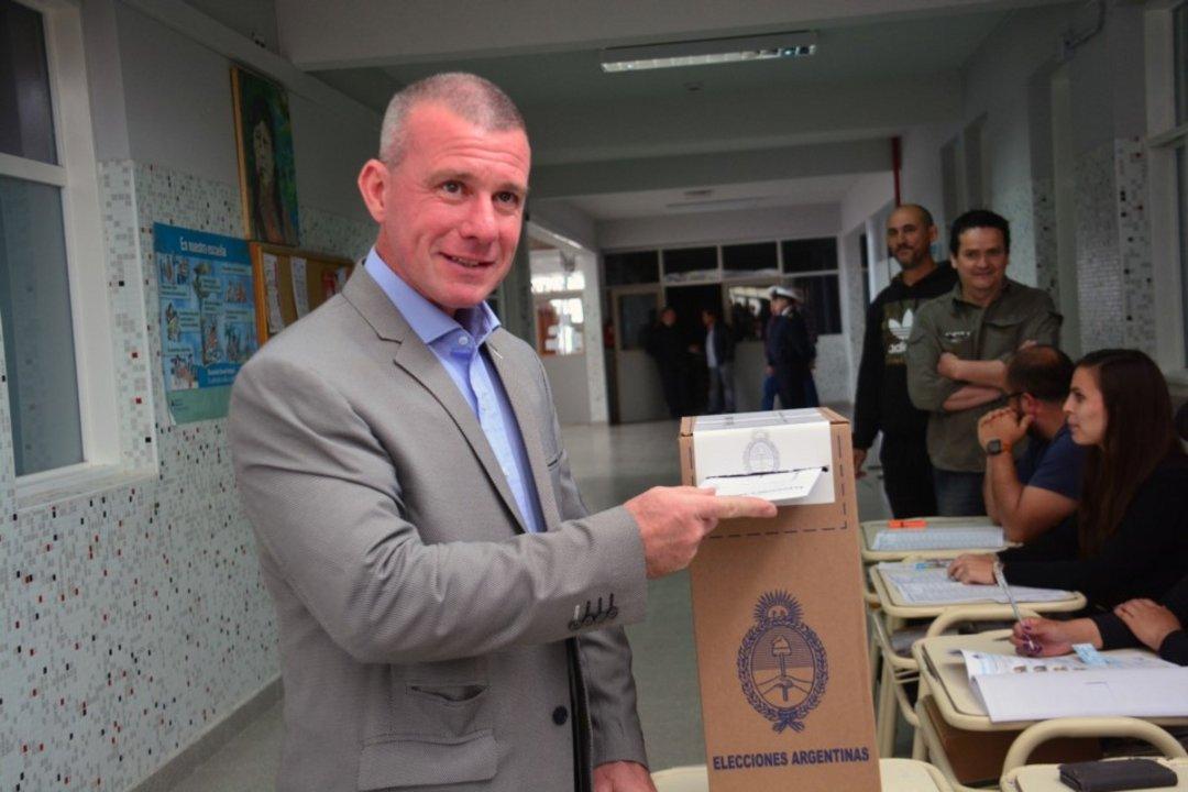 Darío James, candidato de Cambiemos en la localidad valletana