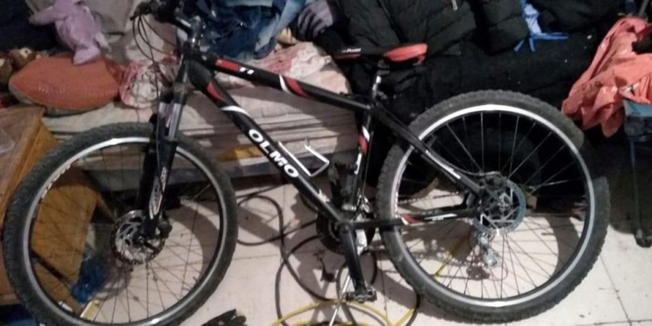 Bicicleta robada. Foto: Diario Crónica