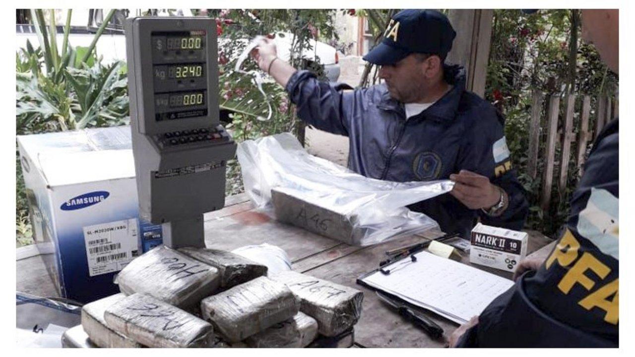 Ingresaban marihuana desde Paraguay y luego la distribuía a distintos puntos del país. Foto: El Patagónico