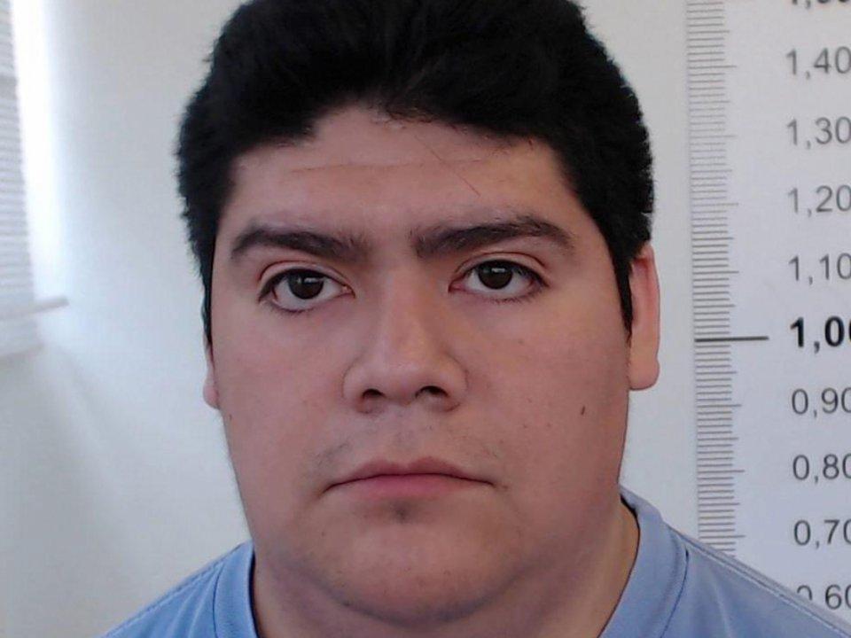 """Fernando """"Calfu"""" Calfunao, de 24 años, fue detenido por el delito de """"grooming"""" cometido contra una menor de 14 años."""