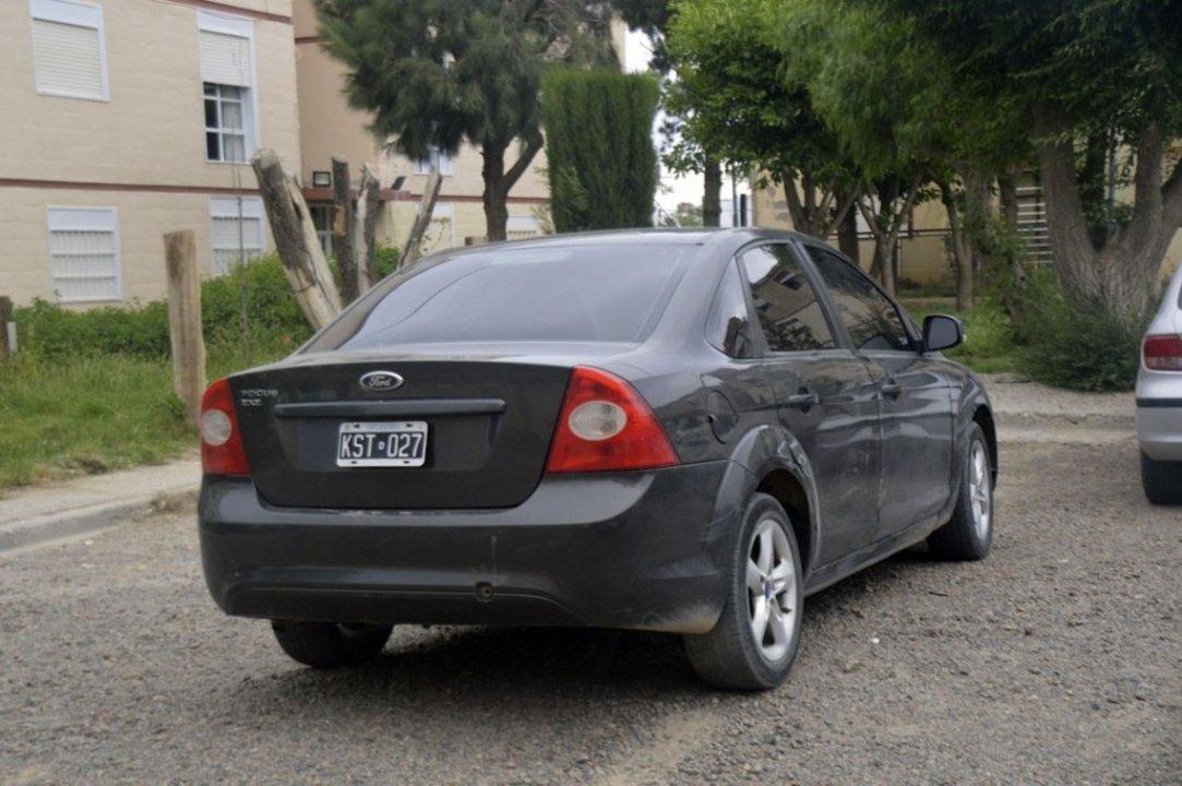 El Ford Focus secuestrado. Foto: Diario Crónica