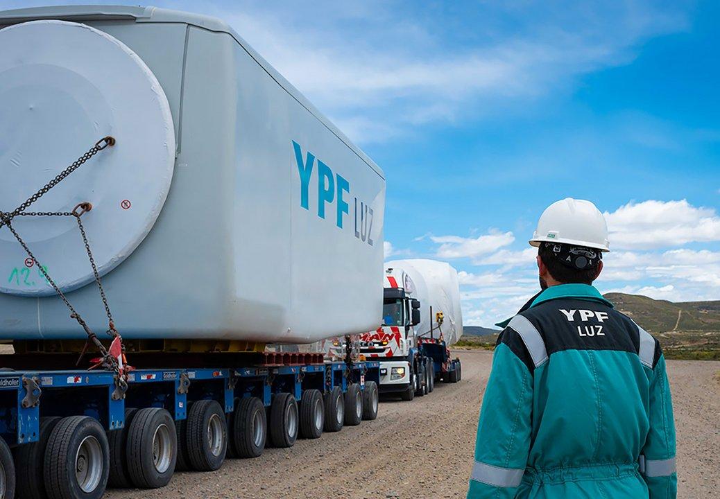 YPF Luz recibe crédito por US$150M para construcción de parque eólico