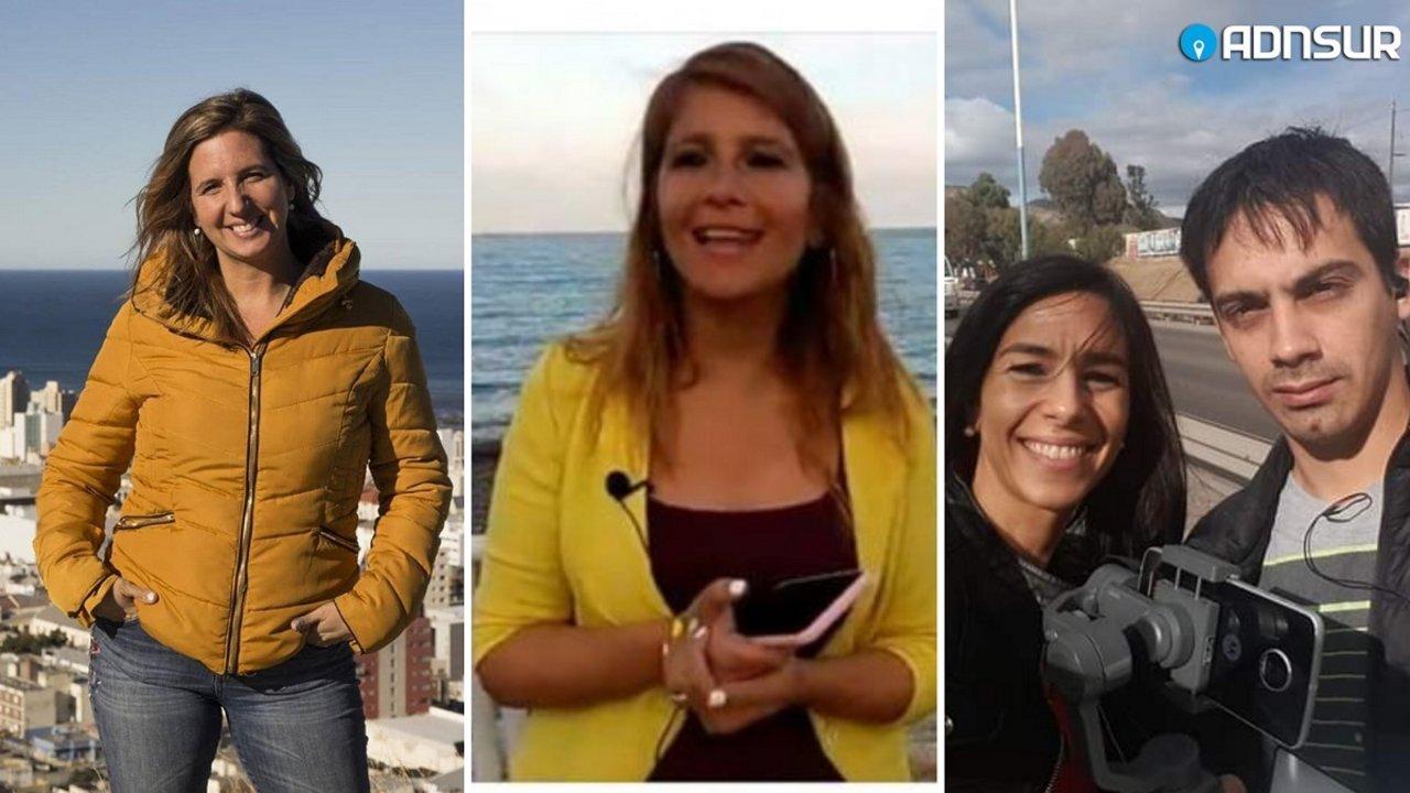 """Soledad Chorny, Ornella Vezzoso, Mariana García y """"Nacho"""" Medina acompañan cada edición de Buen Día y Buenas Noches Comodoro."""