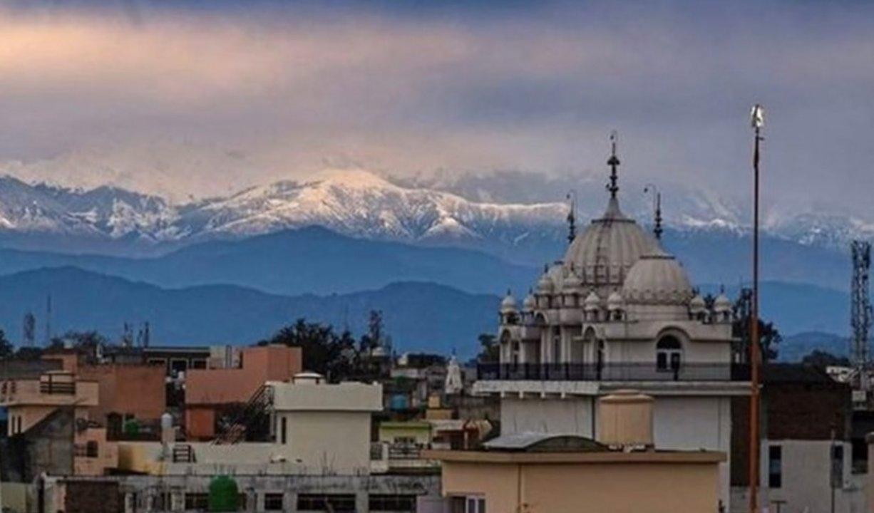 El Himalaya, visible desde la India por primera vez en 30 años