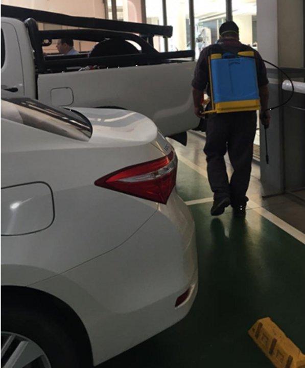 Habrá guardias de desinfección continúa dentro de los concesionarios TSUYOI