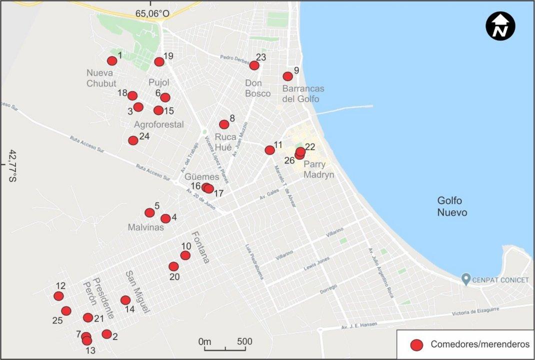 Mapa solidario