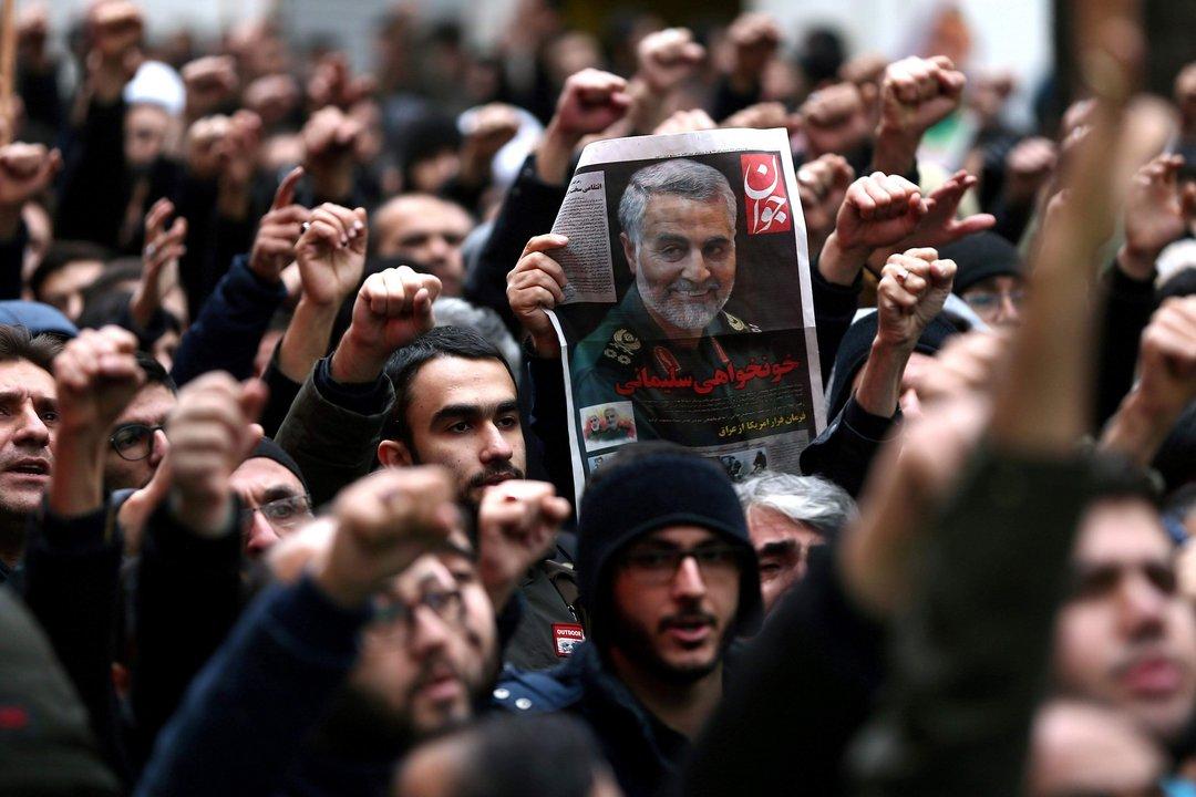 Irán pide el arresto de Donald Trump
