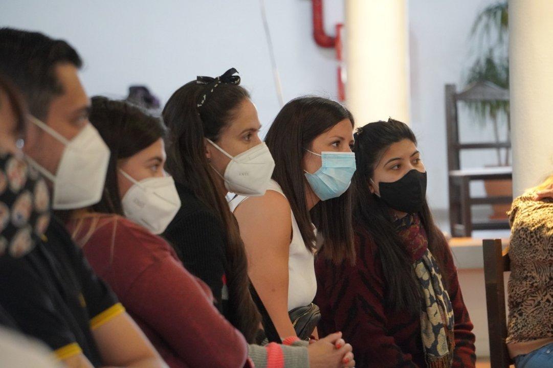 Con solo 31 años Gisele es la coordinadora del equipo sanitario que el jueves arribó a Comodoro Rivadavia.