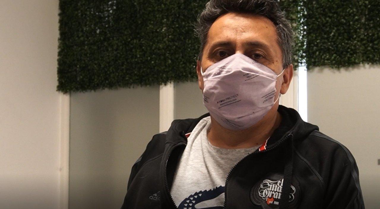 José tiene 52 años, sufrió coronavirus y aún se recupera de las secuelas que el virus le provocó.