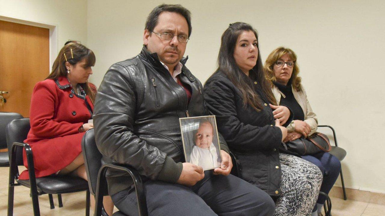 Los papás de Nicolás Russo, el bebé fallecido en 2014