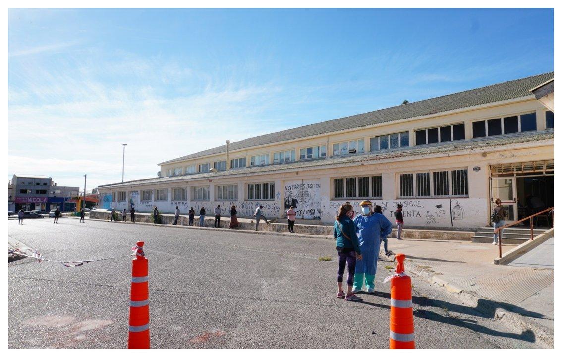 El Plan Detectar cuenta con dos puestos, uno en el Ceret en km y otro en la Escuela de Arte. Foto: facebook
