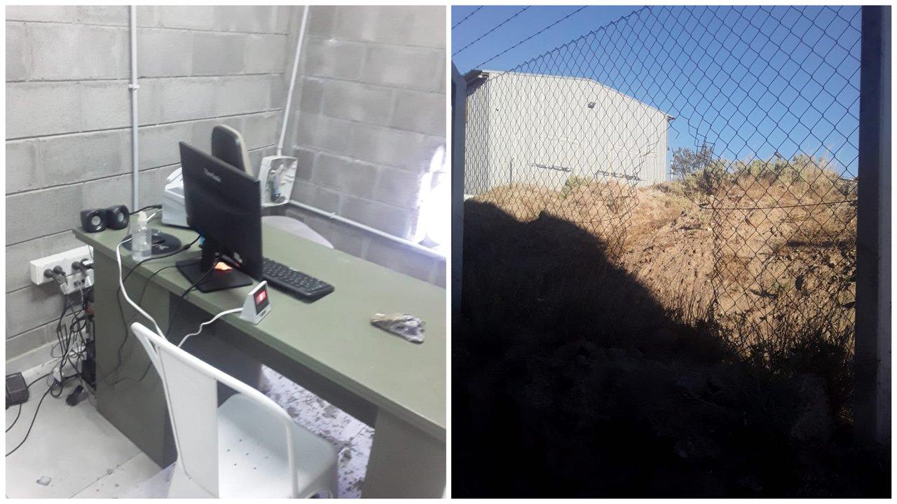 Los delincuentes forzaron una caja de seguridad. Foto: adnsur