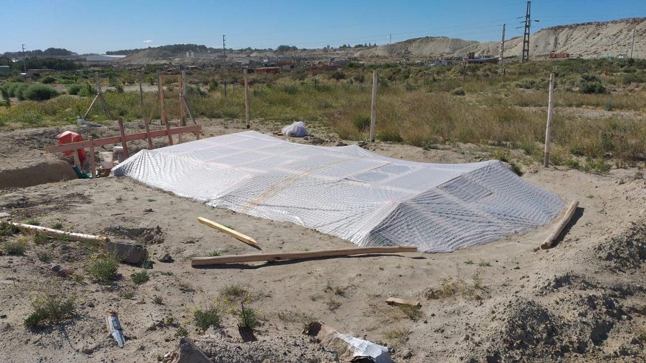 Plantación de marihuana Puerto Madryn. Foto: ADNSUR