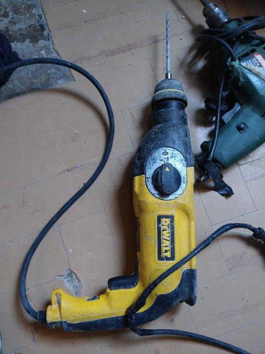 Herramientas robadas a un taller a fines de enero. Foto: DIP