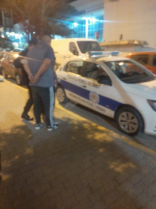 El delincuente del primer robo en el centro de Comodoro fue detenido rápidamente tras la denuncia. Foto. ADNSUR