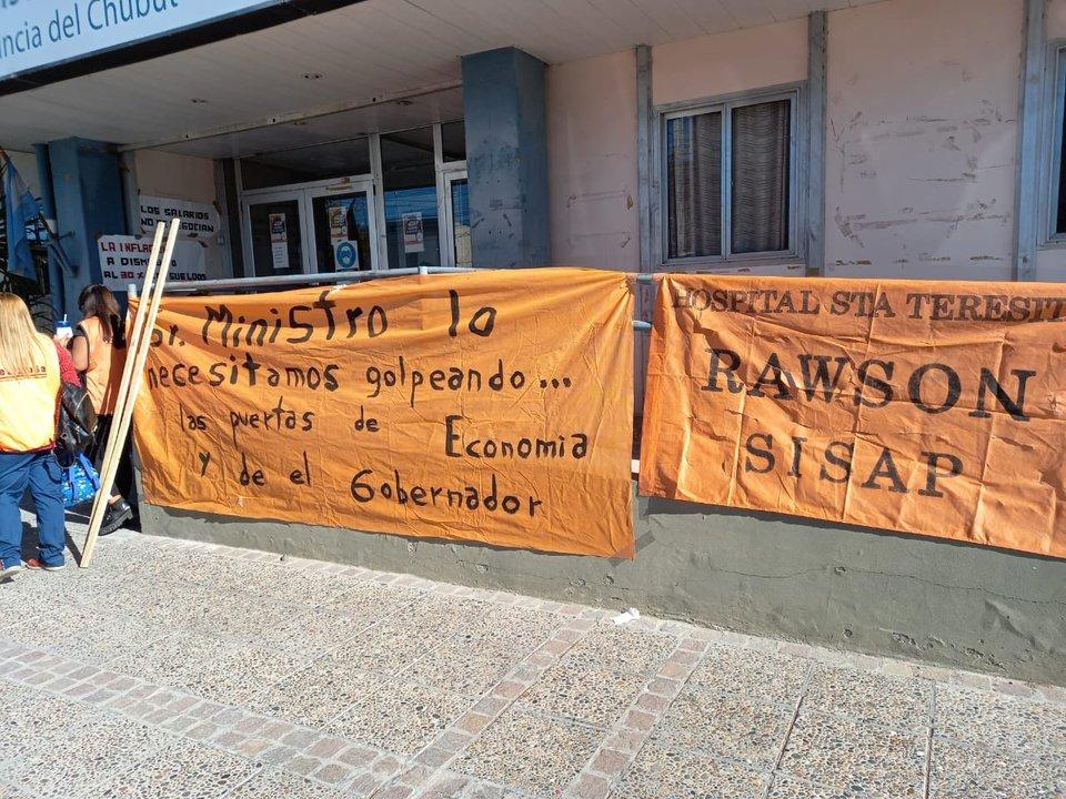 Paro del Sisap por 72 horas: Reclaman los atrasos en los pagos. Foto: ADNSUR