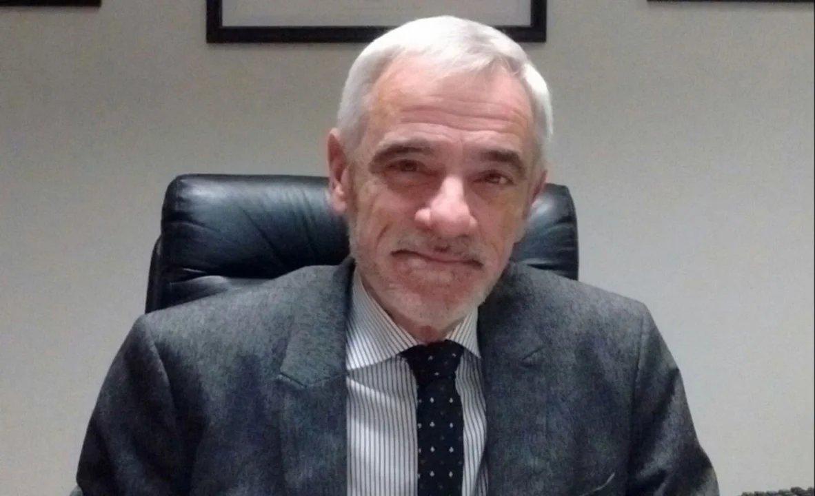 Mario Vivas, presidente saliente del STJ de Chubut.